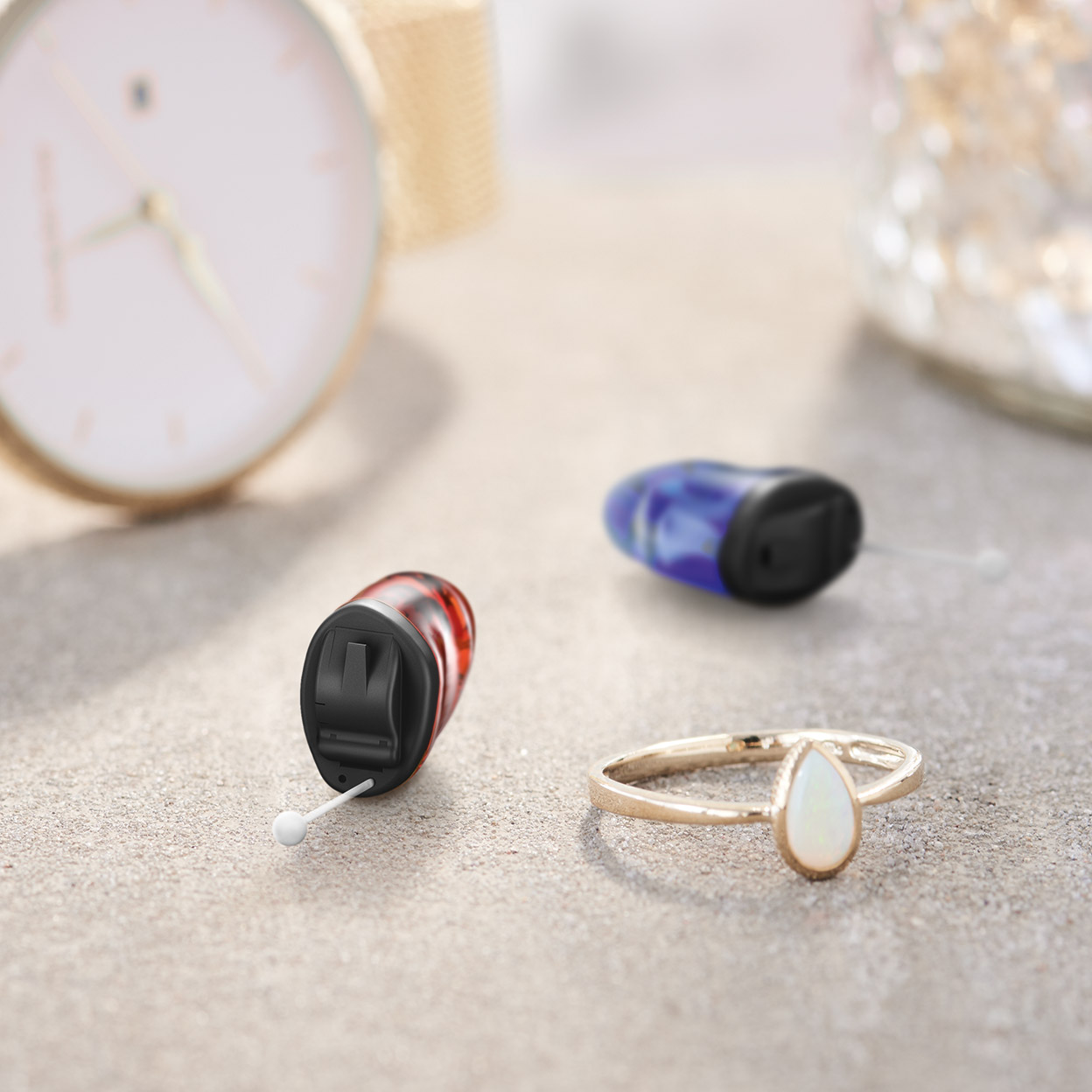 Tailor-made for your ear anatomy, Signia's Insio sits perfectly and almost unnoticeably in your ear for a high level of discretion and wearing comfort.